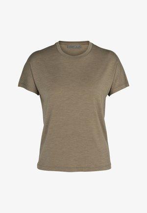 W UTILITY EXPLORE - Print T-shirt - flint