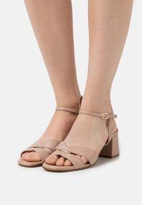 Anna Field - LEATHER - Sandals - beige - 0