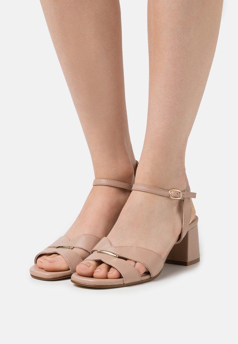 Anna Field - LEATHER - Sandals - beige