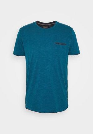 Basic T-shirt - petrol blue