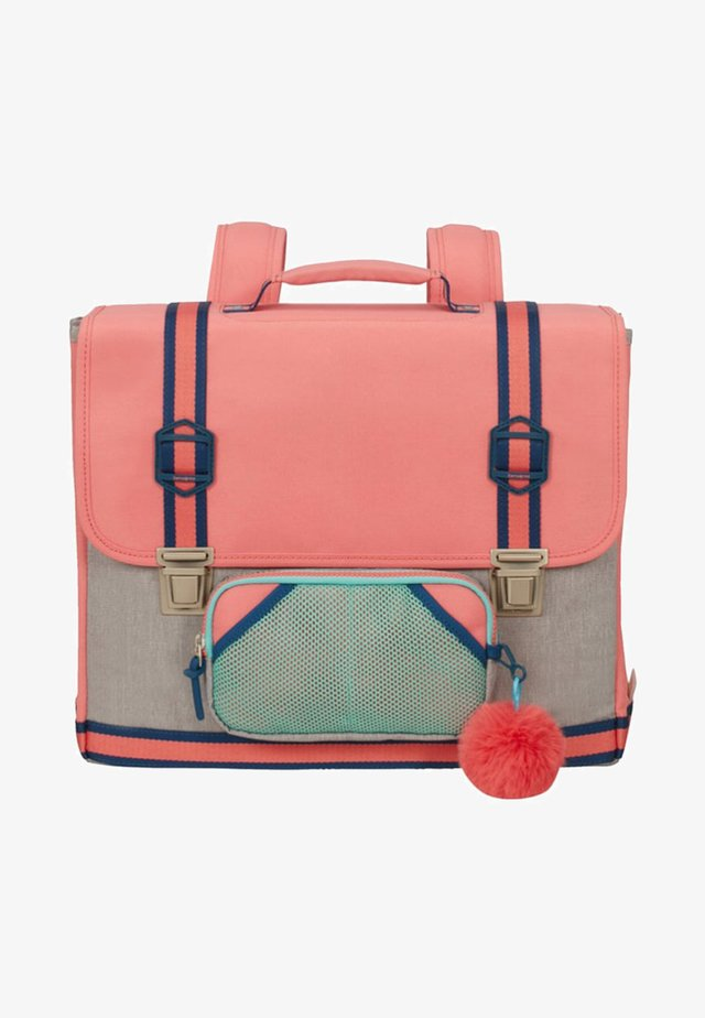 School bag - bubble gum pink