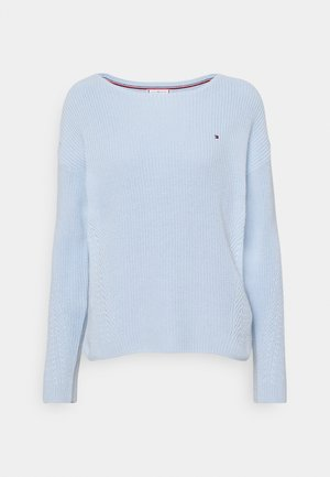 HAYANA BOATNECK - Jumper - breezy blue