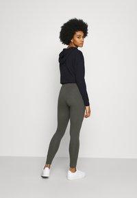 Monki - MEI - Leggings - Trousers - grey dark - 2