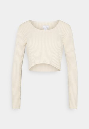 SANNA - Langærmede T-shirts - light beige