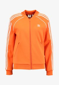 adidas Originals - ADICOLOR 3 STRIPES BOMBER TRACK JACKET - Training jacket - orange - 3