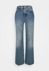 House of Dagmar - ALBA - Flared jeans - medium blue - 3