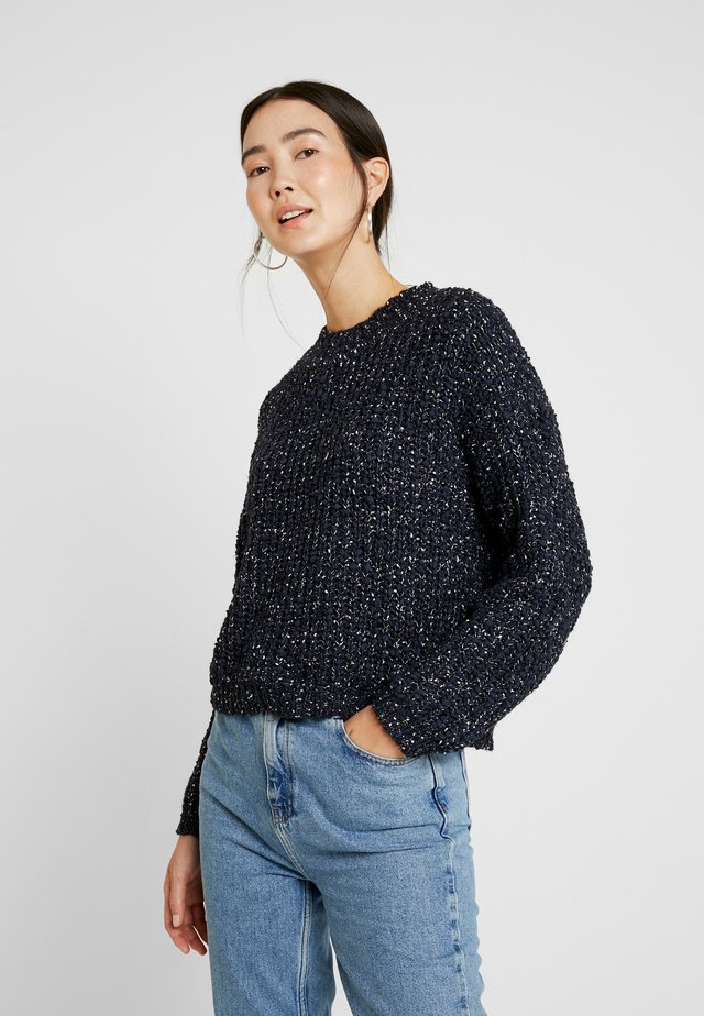 OBJRUBY GALA PULLOVER - Sweter - sky captain