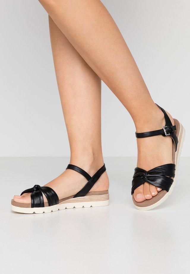 9-9-28609-24 - Wedge sandals - black