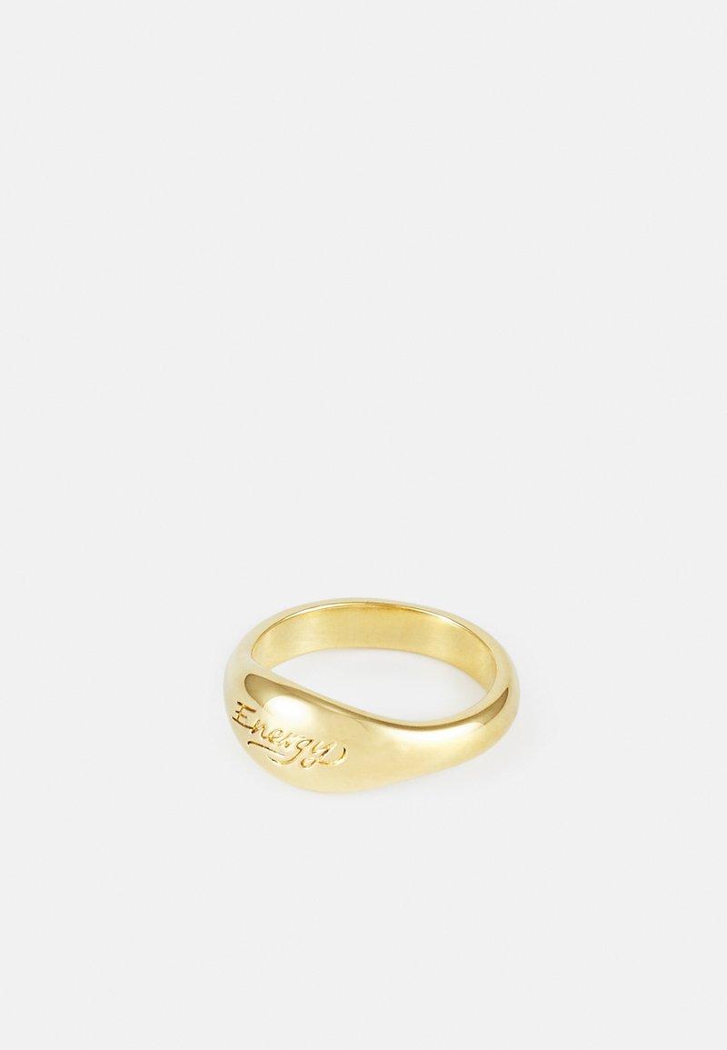 TWOJEYS - 365 ENERGY RING UNISEX - Ring - gold-coloured