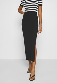 Even&Odd - Maxi skirt - black - 0