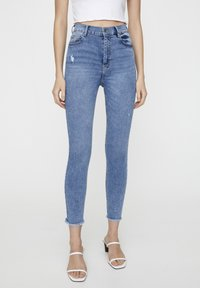 PULL&BEAR - Jeans Skinny Fit - blue - 0