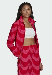 adidas Originals - X MARIMEKKO - Veste de survêtement - vivid red/team real magenta - 2