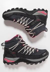 CMP - RIGEL MID TREKKING SHOE WP - Hikingschuh - antracite/offwhite - 1