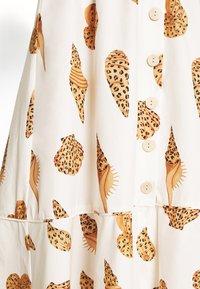 Farm Rio - LEOPARD SHELL MIDI DRESS - Shirt dress - multi - 6