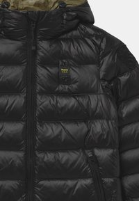 Blauer - IMPERMEABILE TRENCH LUNGHI - Down coat - black - 2