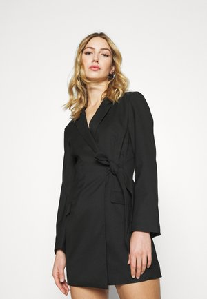 KAREN DRESS - Etuikjoler - black