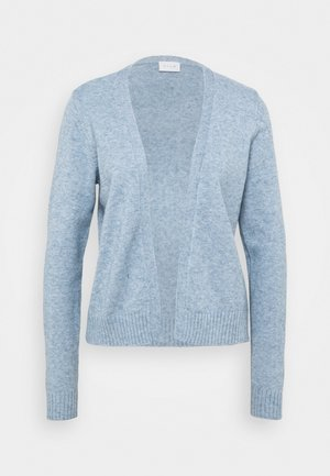 VIRIL SHORT - Strickjacke - ashley blue melange