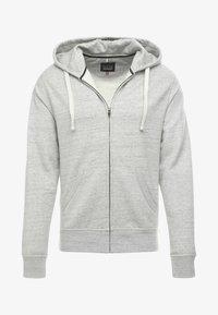 Zip-up sweatshirt - stone mix