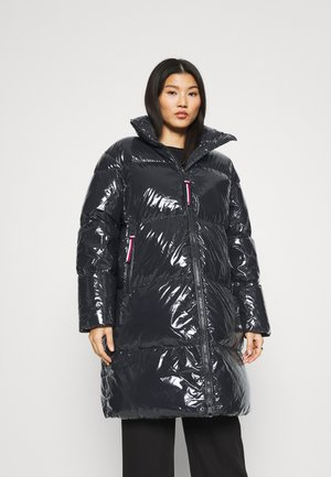 HIGH GLOSS PUFFER COAT - Down coat - desert sky