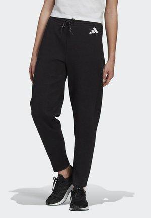 ADIDAS SPORTSWEAR DOUBLEKNIT 7/8 TRACKSUIT BOTTOMS - Spodnie treningowe - black