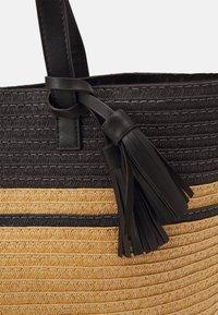 Anna Field - Tote bag - black/beige - 3