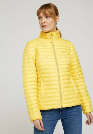 Light jacket - smooth yellow