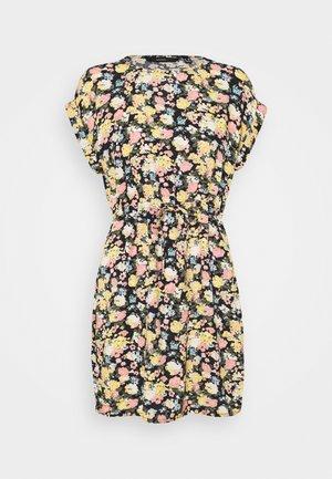 VMSIMPLY EASY TIE SHORT DRESS - Day dress - navy blazer