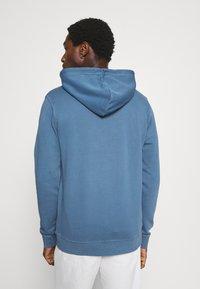 Marc O'Polo DENIM - LONG SLEEVE HOOD - Sweatshirt - grayish petrol - 2