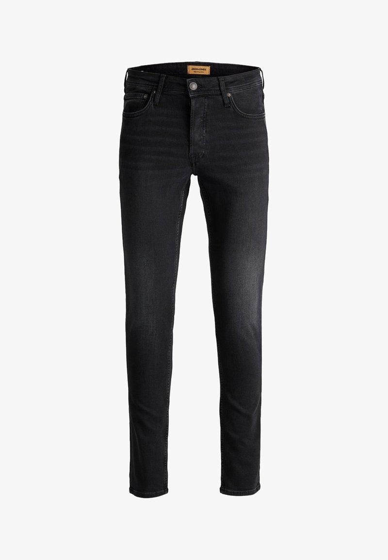Jack & Jones - GLENN  - Slim fit jeans - black denim