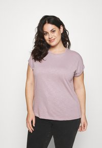 Anna Field Curvy - Basic T-shirt - lilac - 0