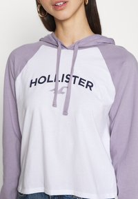 Hollister Co. - Hoodie - white/lavender - 5