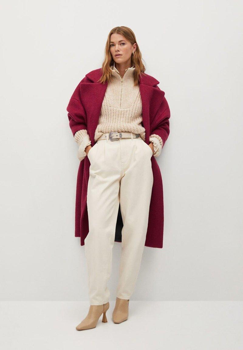 Mango - COCTEL - Classic coat - fuchsia