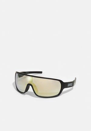 DO BLADE UNISEX - Sportbrille - uranium black/violet/gold mirror