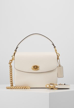 POLISHED PEBBLED CASSIE CROSSBODY - Handbag - chalk