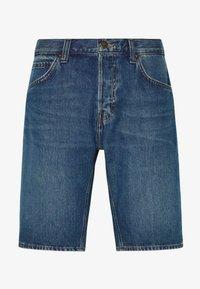 REGULAR RIDER SHORT - Denim shorts - soft mid aliso