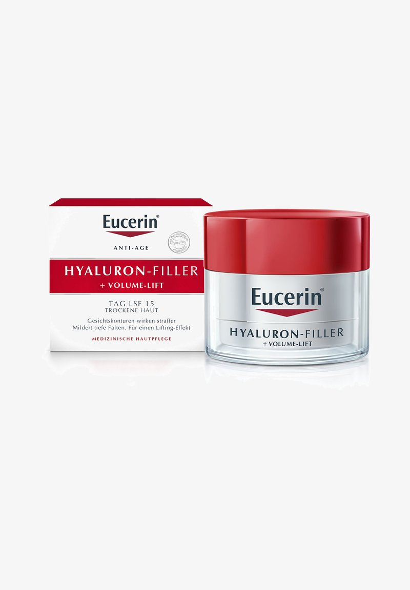 Eucerin - TAGESPFLEGE TAGESCREME HYALURON-FILLER + VOLUME-LIFT, FÜR TROCKE - Anti-Aging - -