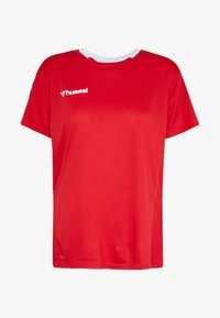 HMLAUTHENTIC  - Print T-shirt - true red