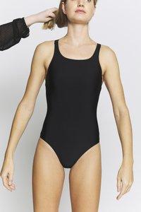 adidas Performance - Swimsuit - black/white - 7