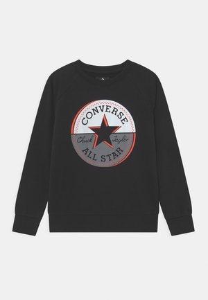 CHUCK PATCH CREWNECK - Sweatshirt - black