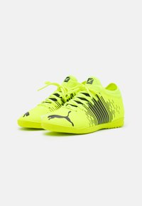 Puma - FUTURE Z 4.1 IT JR UNISEX - Indoor football boots - yellow alert/black/white - 1