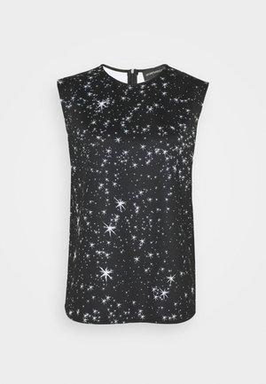COSMO 2 IN 1 - Camiseta de manga larga - schwarz/weiss