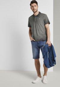 TOM TAILOR - Polo shirt - phanton dark grey - 1