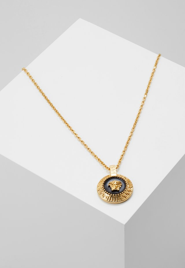 Necklace - nero/oro caldo