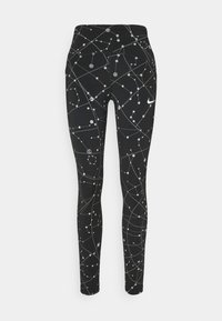 Nike Performance - SPEED  - Leggings - black/silver