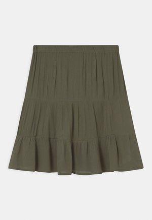 TEEN GIRLS - A-line skirt - kaki