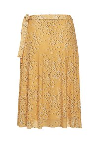 Soaked in Luxury - A-line skirt - golden nugget small flower - 1