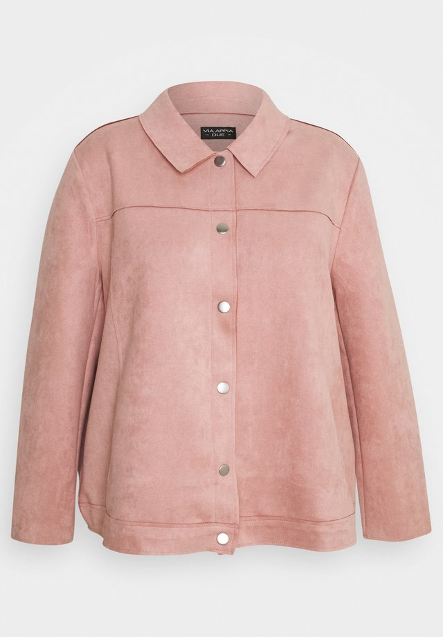 Summer jacket - rosenquartz