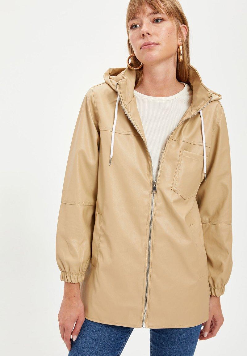 DeFacto - Waterproof jacket - beige