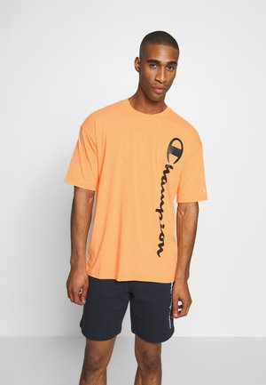 CREWNECK - T-shirt imprimé - orange