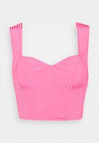 Missguided - SWEETHEART SET - Pouzdrová sukně - pink - 2